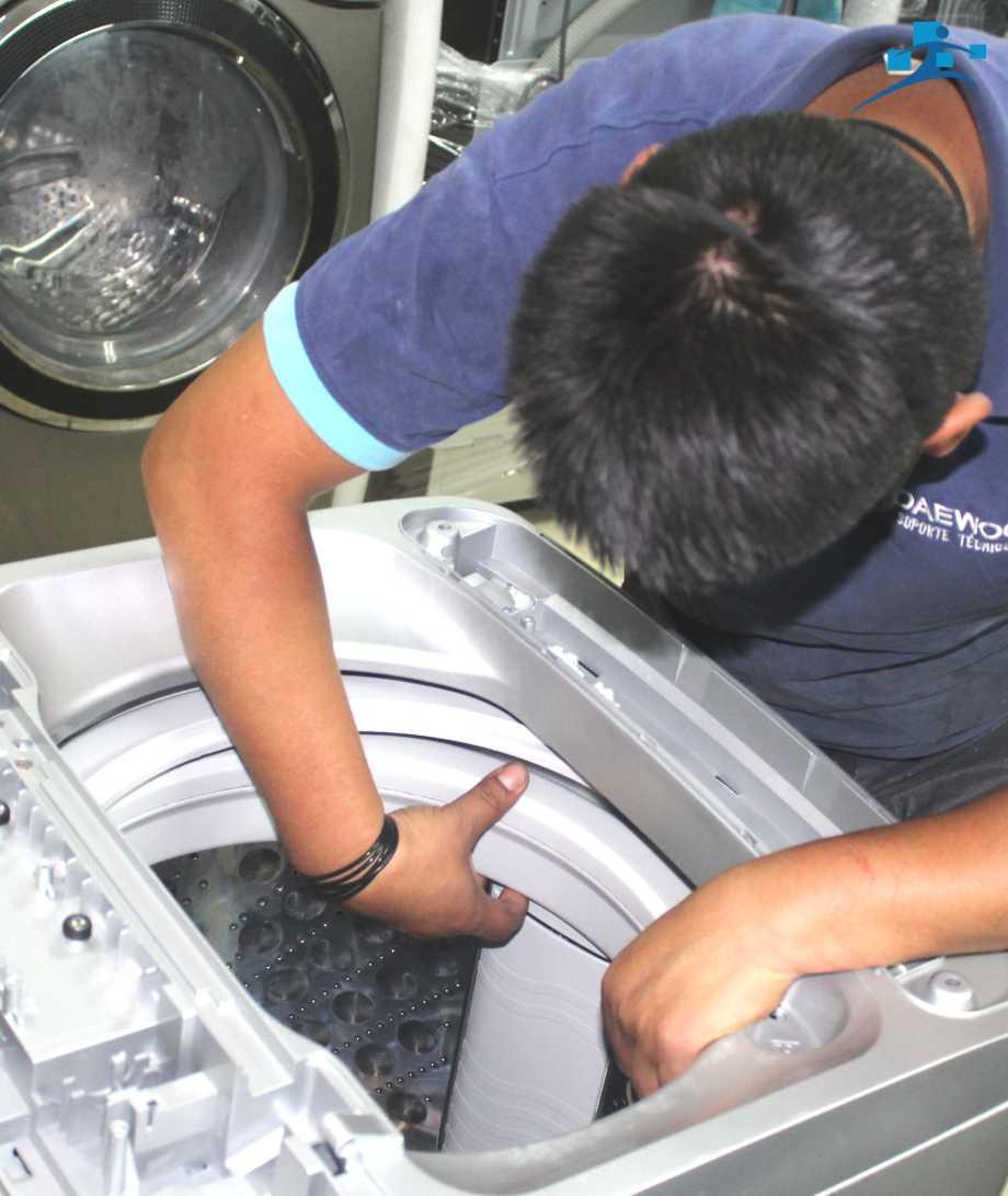 reparación de lavadoras Daewoo Winia Panasonic